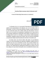POTELLI; Alessandro. Un Trabajo de Relacion. Observaciones Sobre La Historia Oral