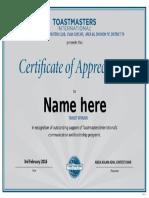 Certificate of Appreciation_rttm