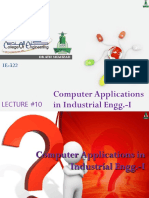 Lecture10_ComputerApplicationsIE1_DrAtifShahzad.ppsx