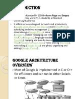 Google Architechture