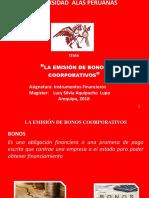 La Emisión de Bonos Coorporativos