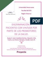 Discriminacion a pacientes con VIH