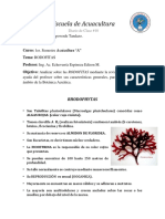 Diario de Clase #11 Escuela de Acuacultura