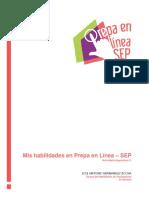 Planeación en entornos virtuales del Modelo de Prepa en Línea SEP