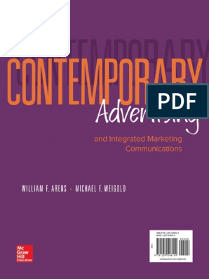 Contemporary_Advertising_William_Arens pdf | Marketing
