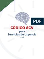 Codigo ACV Para Servicios de Urgencia MINSAL Chile 2018