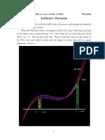 Leibniz's Formula