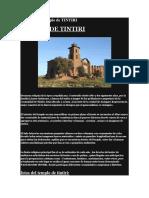 Historia Del Templo de TINTIRI
