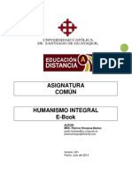 E-book Humanismo Integral 2014