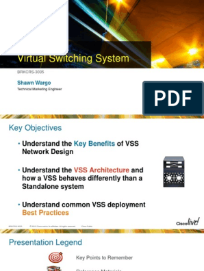 VSS Cisco Live | Network Switch | Computer Network