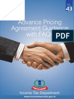 Advance Pricing Agreement Guidance With Faqs (Tpi 43)