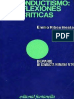 El conductismo. Reflexiones críticas.pdf