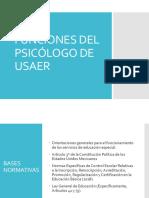 Funciones Del Psicólogo de Usaer