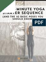 Yoga Starter Seq