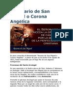 El Rosario de San Miguel o Corona Angélica