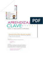 Aprndizajes Clave Fce