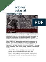 Invocaciones Propuestas Al Moribundo
