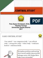 Case Control Dan Cohort Study