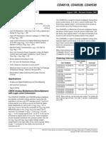 Datasheet CD4051BE