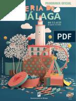 Programa Feria Málaga 2018