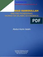 Muhammad Hamidullah and His Pioneering Works on Islamic Economics by Abdul Azim Islahi
