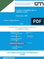 PresentaciónPCP- MRP