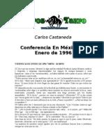 Castañeda, Carlos - Conferencia Mexico Enero De 1996
