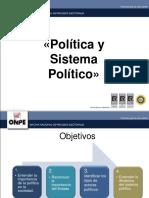 1. Política y Sistema Politico