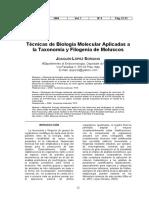 Técnicas de Biología molecular aplicadoas a taxonomía y filogenia2004.pdf