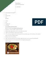 Bahan Untuk Pembuatan Mie Ramen Korea