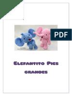 crochet elefante