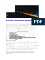 Analizador FFT