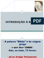 introdução a biblia
