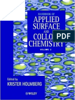 Handbook of Applied Surface and Colloid Chemistry - Volume 2