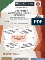 ANALISIS Y DISEÑO ESTRUCTURAL EN ACERO Y CONEXIONES