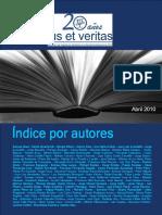 Indice Por Autores Ius 39