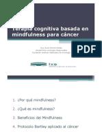 Terapia Cognitiva Basada en Mindfulness en Cáncer