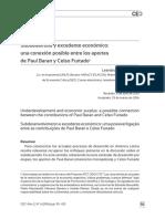 Teoría e Interpretación Del Estructuralismo de Celso Furtado