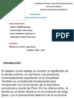 Monografia Deuda Externa Del Peru Multimedia
