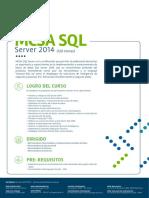 Mcsa SQL 2014 Cibertec