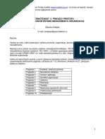 Sistematican Prikaz QMS Organizacije