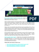 Bursa Taruhan Zalgiris vs Sevilla 17 Agustus 2018