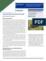 Interpretation of soil testing