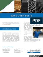 Bake Oven Belts