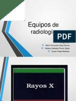 Equipos de Rayos X