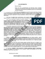 EDUCACION FISICA Consejos Del Departamento