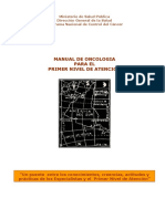 Manual Oncologia 1er Nivel Atencion