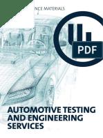 UL Automotive Testing
