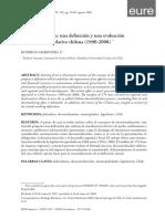 Mardones - Descentralización Una Definición y Una Evaluación