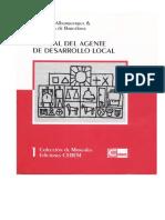 Alburquerque - Manual Del Agente de Desarrollo Local